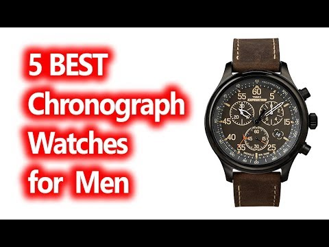 Best Chronograph Watches For Men Buy In 2019
