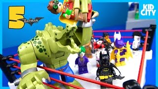 The LEGO Batman Movie Shake Rumble Game #5 with Lego Batman Blind Bag MiniFigures by KidCity