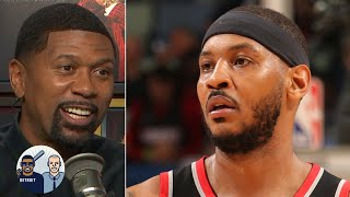 Carmelo Anthony has the opportunity to go out on his own terms - Jalen Rose | Jalen & Jacoby