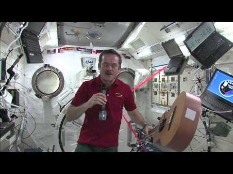 Music In Space - NASA DLN Event with Chris Hadfield