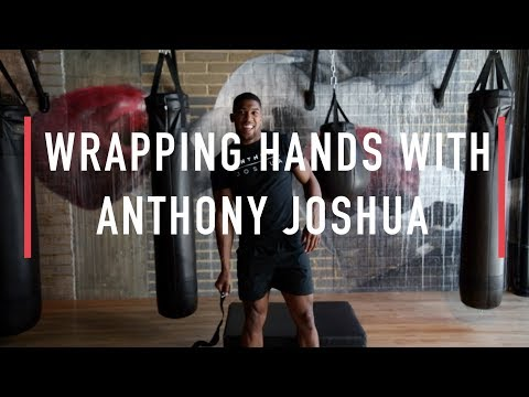How to wrap your hands with Anthony Joshua