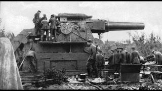 Большая Берта.  Самая большая пушка второй Мировой войны.
