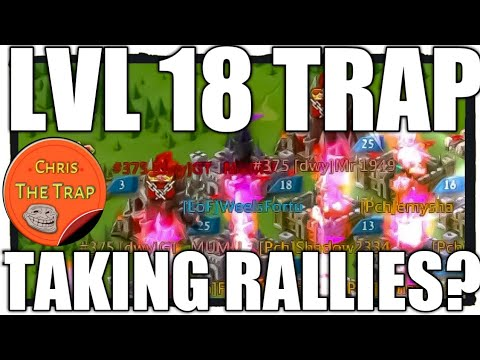 Chris Is Back - Small Trap Vs Rally With T4 - Lords Mobile