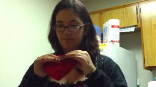 Part Two: How To Make A Heart Shaped Cross Stitched Magnet