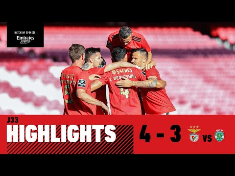 RESUMO / HIGHLIGHTS: SL Benfica 4-3 Sporting CP