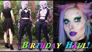My Gothy Birthday Haul, With Weird Childhood Artifacts!