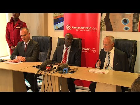 Kenya Airways FY 2017 Post Financial Results Press Conference  @KenyaAirways