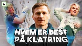 Klatring med Magnus Midtbø og Victor Sotberg