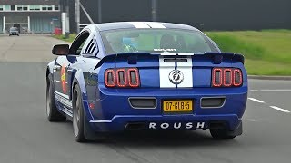 Ford Mustang Roush 428R - Exhaust Sounds!