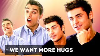 ZAC EFRON and DAVE FRANCO talk GIRLS, abs, LOVE and being role models  (and why Zac needs more hugs)