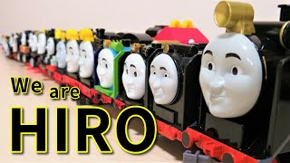 We are Hiro! Thomas & Friends toy collection Trackmaster Wooden Railway RiChannel