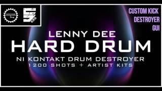 Lenny Dee Hard Drum - Hardcore Drums Kontakt Instrument