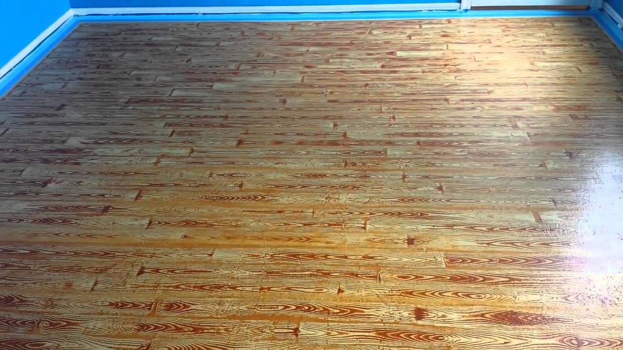 Painted Plywood Floors Basketball Court Applying The