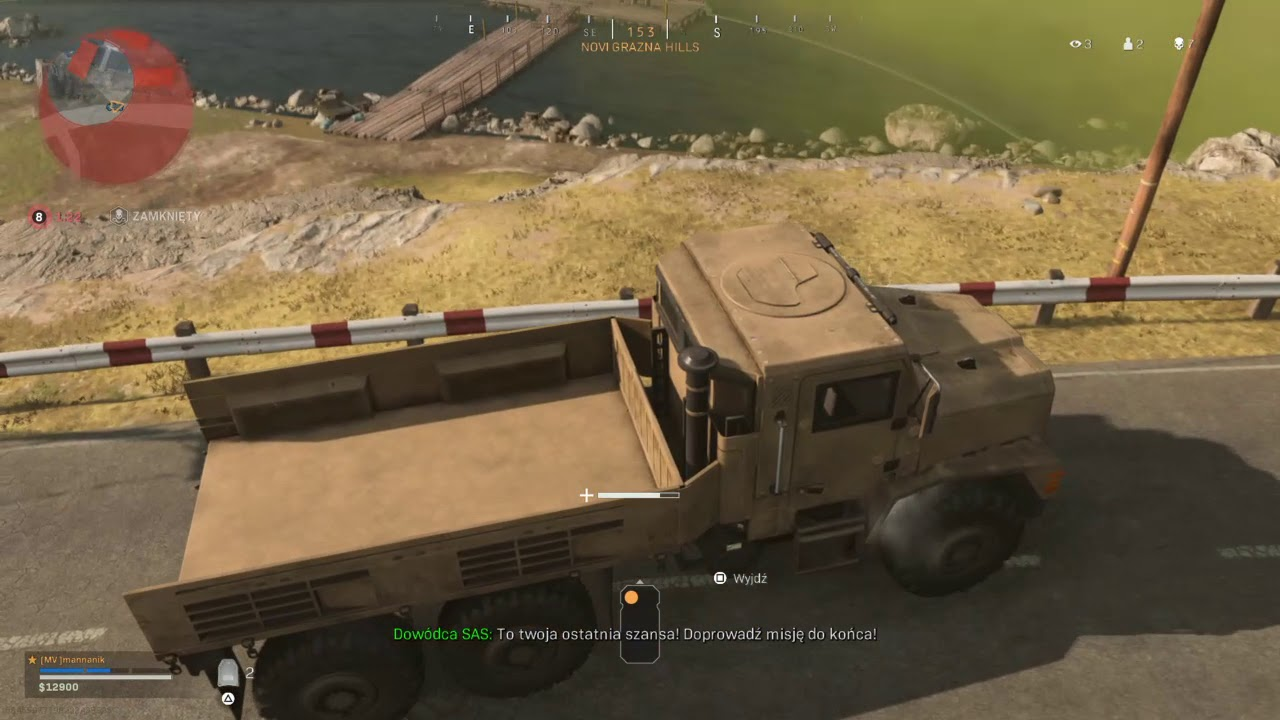 Crazy truck riding in Warzone finale