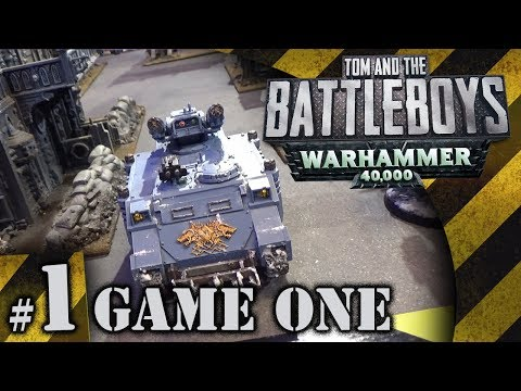 BATTLEBOYS - Warhammer 40K Game One #1 - That's A Victory Point