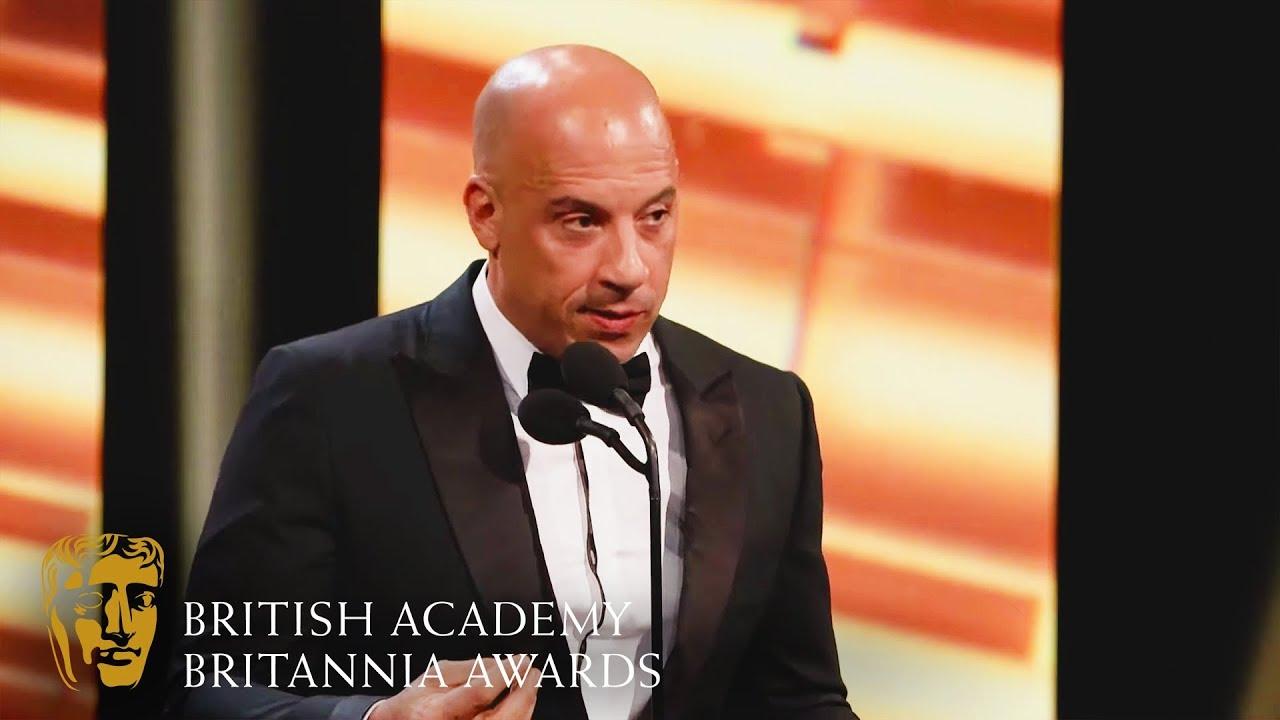 Download Vin Diesel's Heart-Warming Tribute to Jackie Chan   2019 BAFTA Britannia Awards