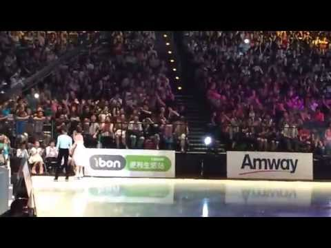 Tsao Chihi - Never Forget you by Angela Chang (2014 ARTISTRY ON ICE, TAIPEI ARENA)
