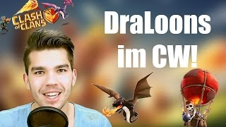 CLASH OF CLANS: DraLoons im Clan War ✭ Let's Play Clash of Clans [Deutsch/German HD]