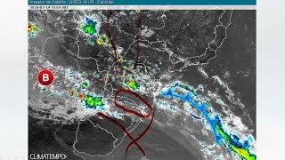 Risco de chuva forte no Sul do Brasil