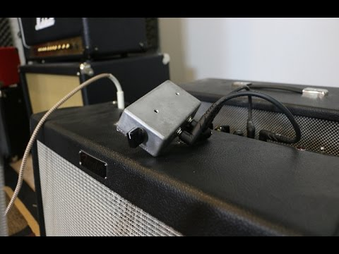 "Easiest ""modification"" for Fender Hot Rod amps (and others) to make it better for home use"