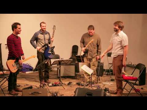 Dither Quartet - 'Lacrosse' by John Zorn - at the Dither Extravaganza 2012 - Invisible Dog Gallery