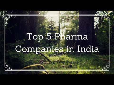 Top 5 Pharma companies in india to invest .
