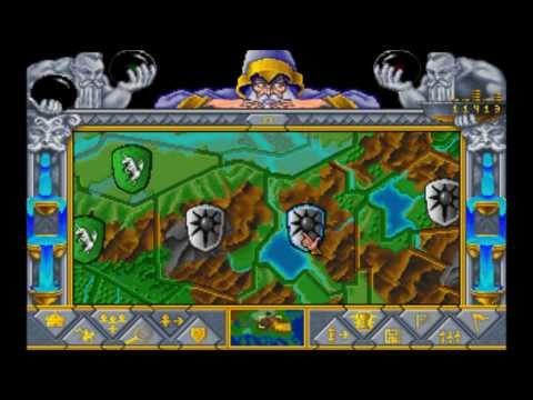 Fantasy Empires (MS-DOS) Intro und Gameplay