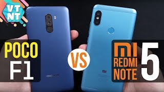 Pocofone F1 vs Xiaomi Redmi Note 5 Сравнение