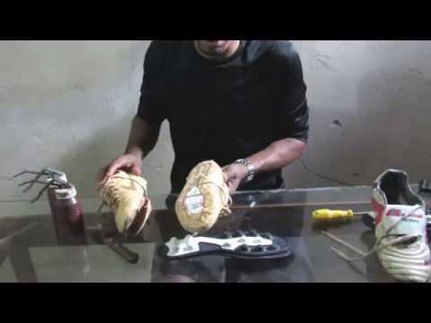 TROCANDO O SOLADO DE CHUTEIRA ( VIDEO 1) (exchange of boot soles)