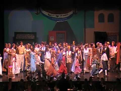 """76 Trombones"" from Madison High School's The Music Man"