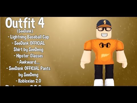10 Awesome Famous Youtuber Roblox Outfits - top 10 best roblox youtubers intros