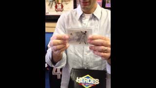 Legacy Sports Cards Las Vegas 2012 Heroes Of Sports Baseball Hobby Box Case Break