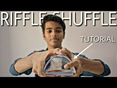 RIFFLE SHUFFLE - TUTORIAL