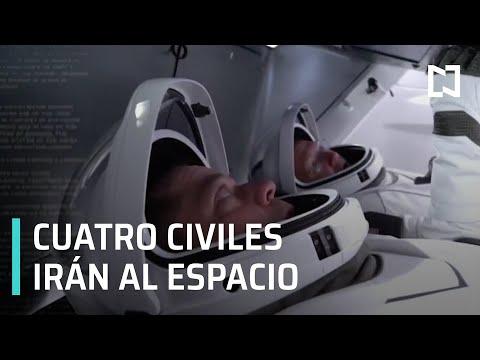 Lanzarán a cuatro civiles al espacio - Despierta
