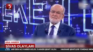 Temel Karamollaoğlu, Sivas Madımak Olaylarına Dair Önemli Açıklamalarda Bulundu