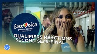 First reaction from the ten qualifiers of the second Semi-Final
