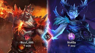 HEROIC Magic Duel Gameplay New Online Strategy Android Games 2019