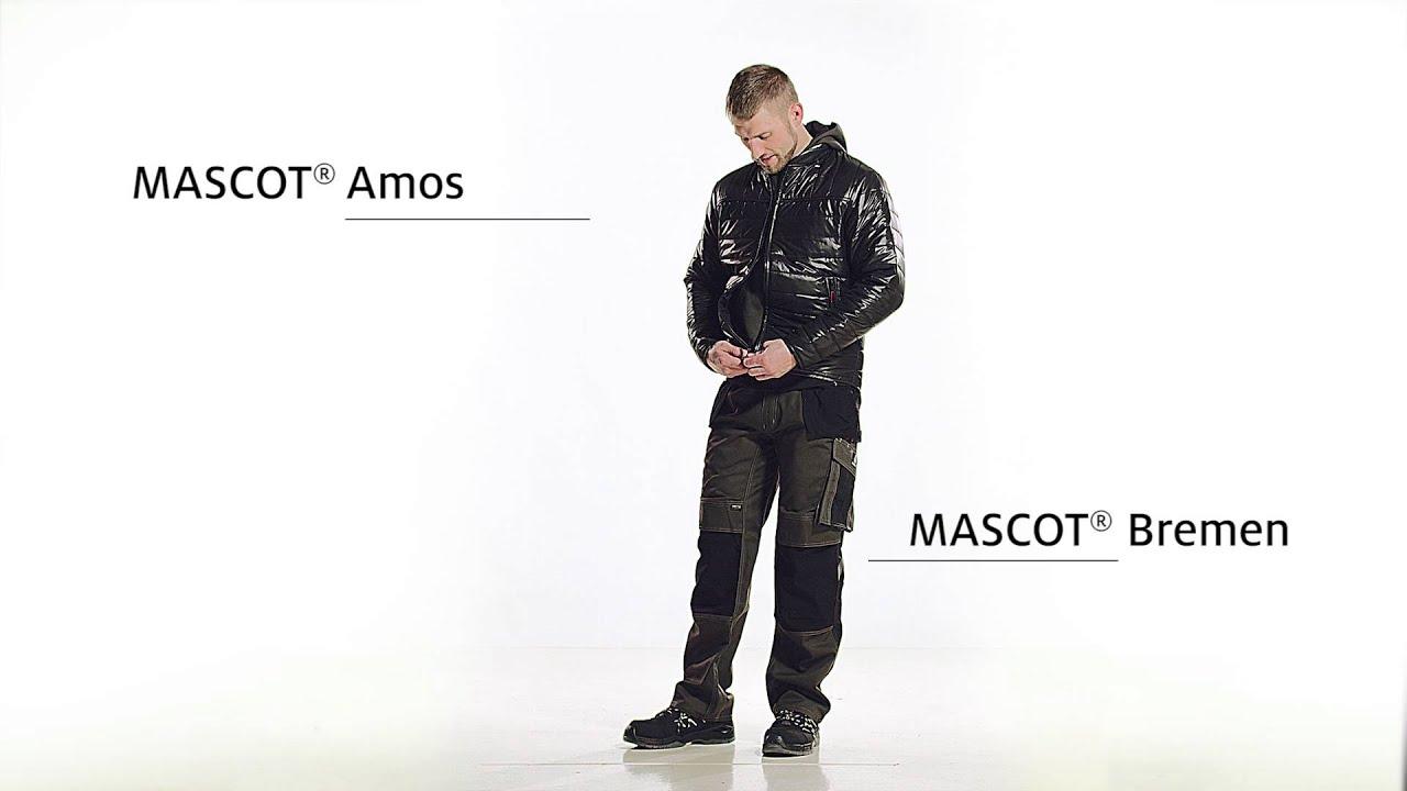 265740a6368 14131-203 Bukser med knæ- og hængelommer - MASCOT® UNIQUE