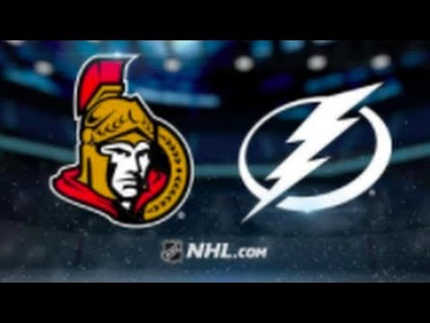 Ottawa Senators vs Tampa Bay Lightning – Nov. 10, 2018   Game Highlights   NHL 2018