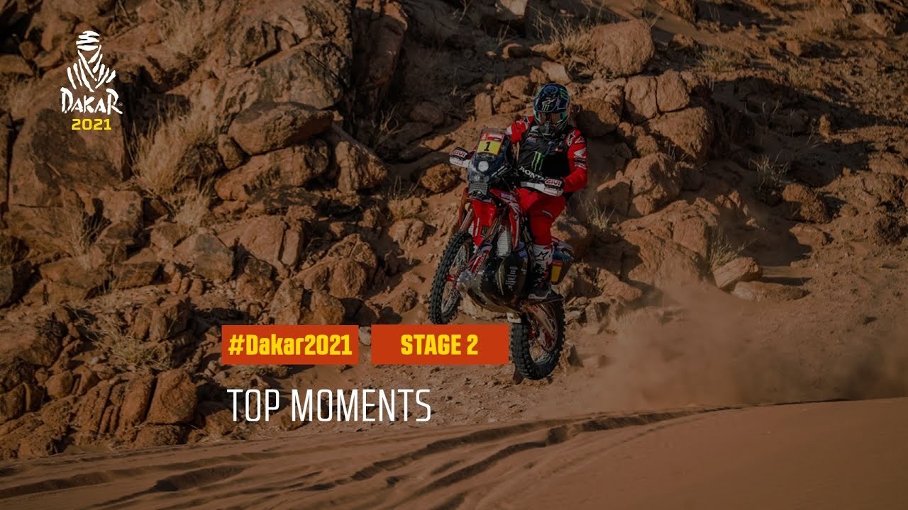 #DAKAR2021 - Stage 2 - Top Moments