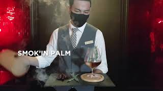 Smok'in Palm Cocktail @ Rib Room & Bar Steakhouse, The Landmark Bangkok