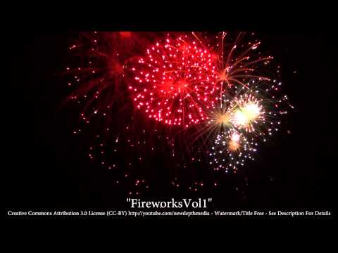 Fireworks HD Vol 1 - FREE Stock Footage for Your Videos