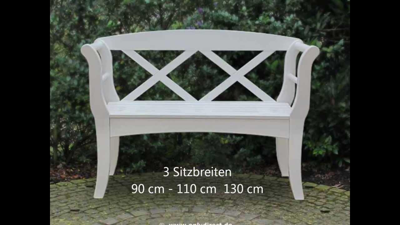 original sylter friesenbank kampen wei e gartenbank aus. Black Bedroom Furniture Sets. Home Design Ideas