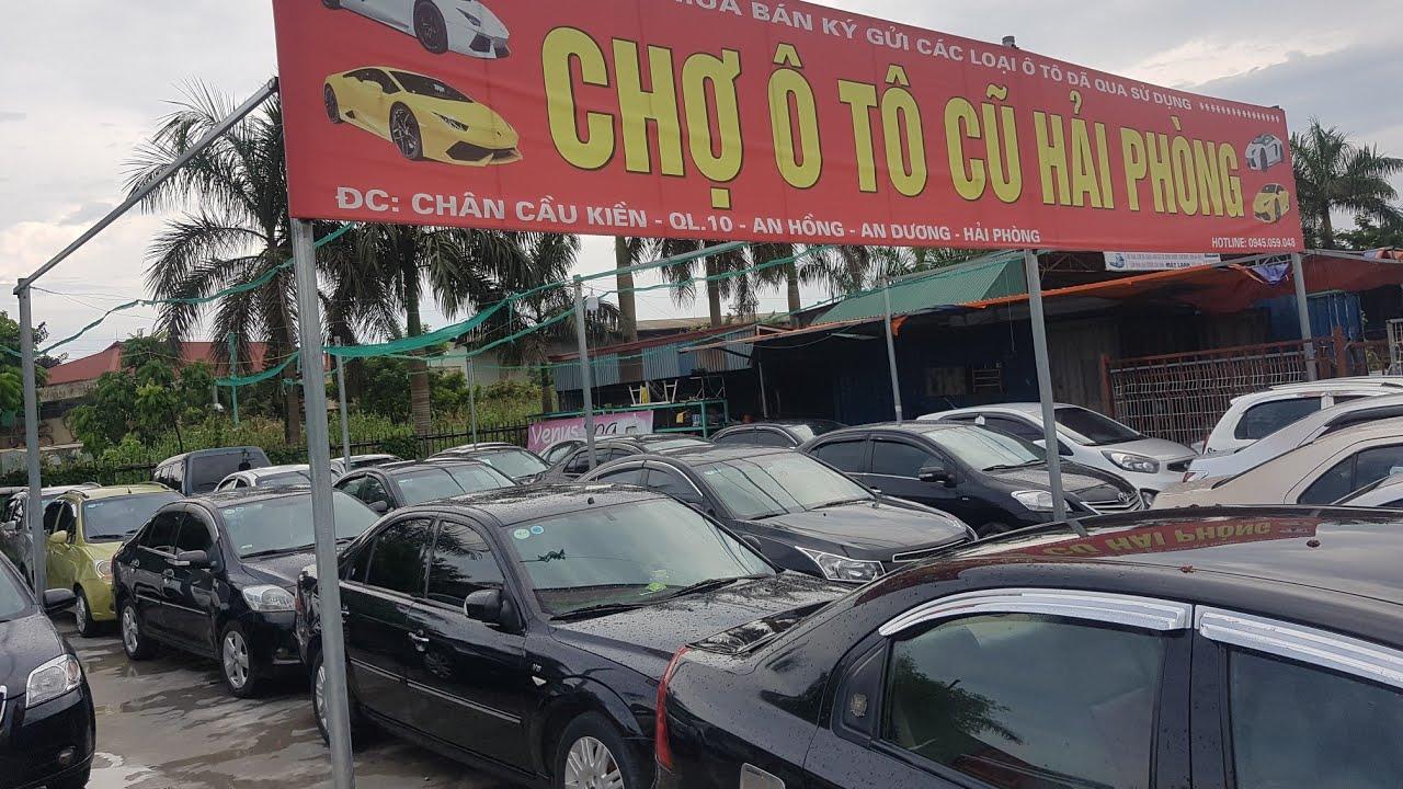 Chợ ô tô cũ Hải Phòng bán giảm giá lô 40 xe 5 chỗ, 7 chỗ 0964674331