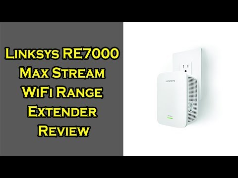 Linksys RE7000 Max Stream AC1900 WiFi Range Extender Review