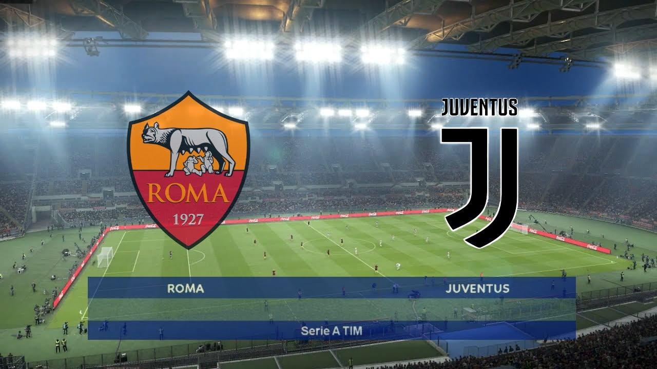 As Roma Vs Juventus Serie A Tim 2019 20 Pes Prediction