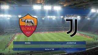 As Roma Vs Juventus | Serie A Tim 2019/20 | Pes Prediction