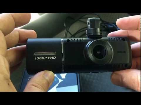 Toguard CE41 Dual Lens Dash Camera. Unboxing And Reviews - Installed In 2007 Toyota Camry.