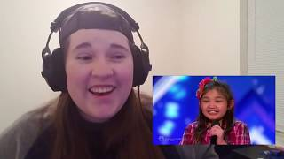 Angelica Hale: Future Start STUNS the Crowd -AGT Reaction!