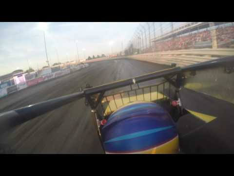 Aaron Farney USAC Knoxville Raceway Qualifying